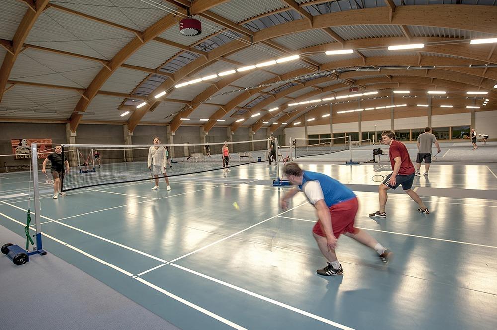 Fitnessstudio Lübben Badminton im Sportpark Lübben