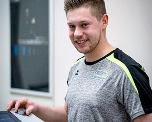 Fintessstudio Lübben Team MA Niklas Stelter Gesundheitstrainer Kursleiter